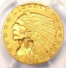 1911-D Indian Gold Quarter Eagle $2.50 Coin (Weak D) - PCGS XF45 - $2,200 Value!