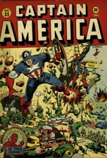 Captain America Comics #33 Timely 1943 - Human Torch Golden Age Schomburg Rare