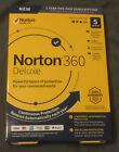 Norton 360 Deluxe 5 Devices 50GB PC Cloud Storage New 21389902 037648687034