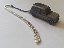 Renault 4 ref207 FULL CAR on a Pattern bookmark with cord
