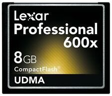 Lexar Pro UDMA 8G 8GB 600X Compact Flash CF Memory Card For DSLR Camera 90MB/s