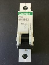 Crabtree Industrial Circuit Breakers 31-40 A Current Rating 1 Poles