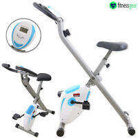 Folding Magnetic Exercise Machine X-Bike Cardio Bike Trainer Home Fitness Gym