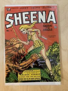 Jerry Iger's Classic Sheena Queen of the Jungle NM (1985 reprint) #1