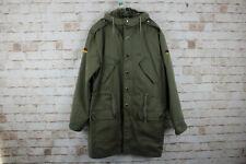 Germany Olive Lined Parka Jacket size 44