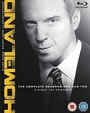 Homeland - Season 1-2 [Blu-ray] [DVD][Region 2]