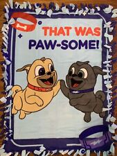 Puppy Dog Pals Fleece Tie Blanket