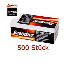 500 x Energizer Button Cell Watches Battery 377/376 SR626W LR626 multidrain