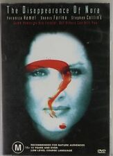 The Disappearance Of Nora (DVD, 2003) - Region 4