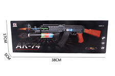 Childrens Toy Gun PLASTIC Role Playing Police Army Machine Gun Styled Kids Game