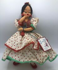 Vintage 1950's Tourist Doll from Spain Carmen A1 Rimblas Doll Co. 12 inch