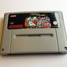 Super Mario 2D Land SNES Super Nintendo videojuego versión PAL
