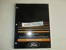 2004 Ford Bi-Fuel CNG Powertrain Control Emissions Diagnosis Manual OEM