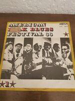 AMERICAN FOLK BLUES FESTIVAL 66 vol STEREO LP 1968 AMIGA 855114 R7/6.