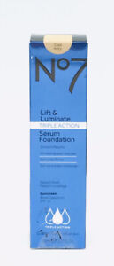No7 Lift & Luminate Triple Action Serum Foundation Cool Ivory SPF15 EXP: 06/2021