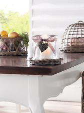 Windlicht Weiden weide Laterne Glaskerzenhalter Teelichthalter Tischdeko