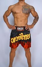 Used Black & Red Boxing Shorts Size Adult Xl