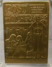 """Pacific Heritage Mint """"The Dugout"""" Saturday Evening Post Bronze Card """"Rockwell"""""""