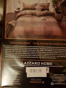Lazzaro Checked Doouble Duvet Cover set.