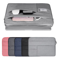 Bag Pouch Sleeve Case Notebook Cover For MacBook Air Pro Lenovo HP Dell Asus