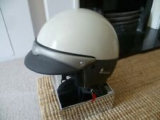 Vintage Style Used VESPA Open Face Scooter/Motorcycle Helmet Size XL - LOOK!