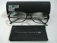 William Rast WR 1015 WR1015 Black Eyeglasses Rx-Able Frame