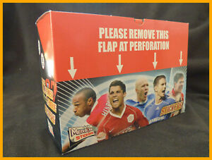 Merlin FA Premier League 07 2007 Full Box of 100 Sealed Packets of Stickers
