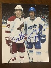 Peter Mueller Ed Jovanovski Dual Signed 8x10 Photo Phoenix Arizona Coyotes