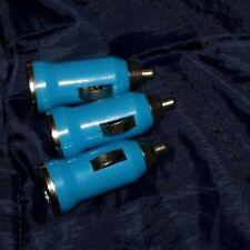 Spinotto Auto USB per Carica Sigaretta Elettronica DA ITALIA X 1 AZZURRO