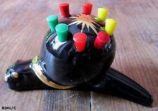 Présentoir vintage pour 8 pics à escargots céramique années 50.-Kitchen utensil
