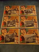 A PLACE IN THE SUN(1951)ELIZABETH TAYLOR 6 DIFF ORIGINAL MEXICAN LOBBY CARDS