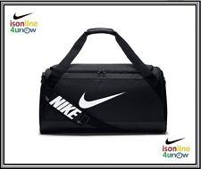 Nike Brasilia Training Duffle Bag Black/White BA5334-010 (Medium) RETAIL $45.00