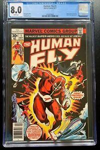 The Human Fly #1 CGC 8.0 WP 1977 Marvel Comics Origin of the Human Fly