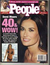 DEMI MOORE People Magazine 11/4/02 BEN AFFLECK NAOMI WATTS ALEXIS BLEDEL PC