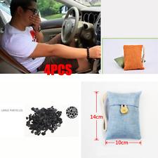 4 Pack Car Charcoal Bag Air Purifier Bamboo Natural Freshner Odor