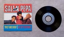 "DISQUE VINYL 45T 7"" SP/ SALT 'N' PEPA ""TWIST AND SHOUT / GET UP EVERYBODY"" PROMO"