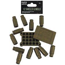 MFH PAPER SHOOTERS Hülsen 12 Stück für Papierkugeln für Spielzeug-Gewehr