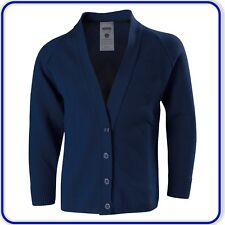 """New Good Quality Girls School Knitted Cardigans Womens Adults sizes 40""""- 44"""""""