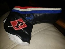 Maidstone Cc Leather Iliac Golf Putter Headcover
