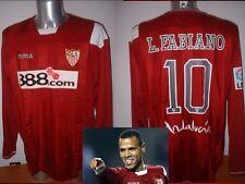 Sevilla LUIS FABIANO Joma Shirt Jersey Soccer Adult XL XXL BNWT Brazil Seville