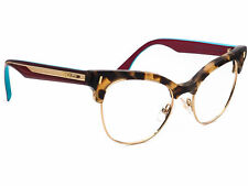 Fendi Women's Eyeglasses FF 0163 VHB Multicolor Cat Eye Frame Italy 51[]17 140
