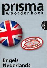 Prisma Woordenboek By Engels Nederlands
