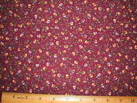 Tiny Acorn's Print  cotton fabric BY THE YARD BTY