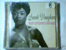 SARAH VAUGHAN What a difference a day made greatest hits cd GERMANY