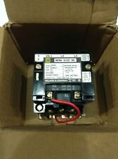 8502 Sao12v02 Square D Magnetic Nema Rated Contactor 3 Pole Coil 110120v New