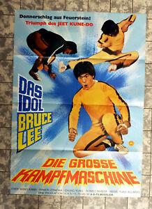 BRUCE LEE - DIE GROSSE KAMPFMASCHINE * A1-FILMPOSTER German 1-Sheet ´77 EASTERN