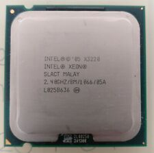Intel Xeon X3320 2.40GHZ 8MB LGA775 Quad Core 4 Threads CPU Processor