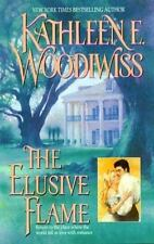 Kathleen E Woodiwiss / Elusive Flame 1998 Historical Romance Trade Paperback
