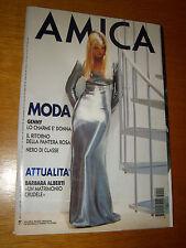 AMICA 1994/41=VALERIA MAZZA COVER MAGAZINE=MARIANNE FAITHFULL=MIRANDA RICHARDSON