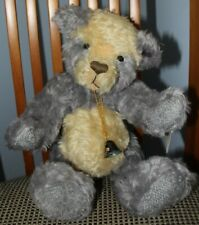 Annette Funicello Limited Edition Wisteria Mohair Bear New With Tags 12 Inches